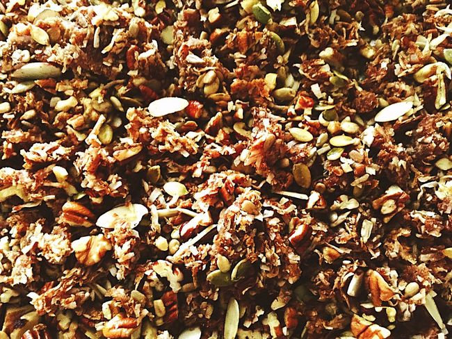 Homemade Granola Low Carb Nom Nom Nom Developing Culinary Skills