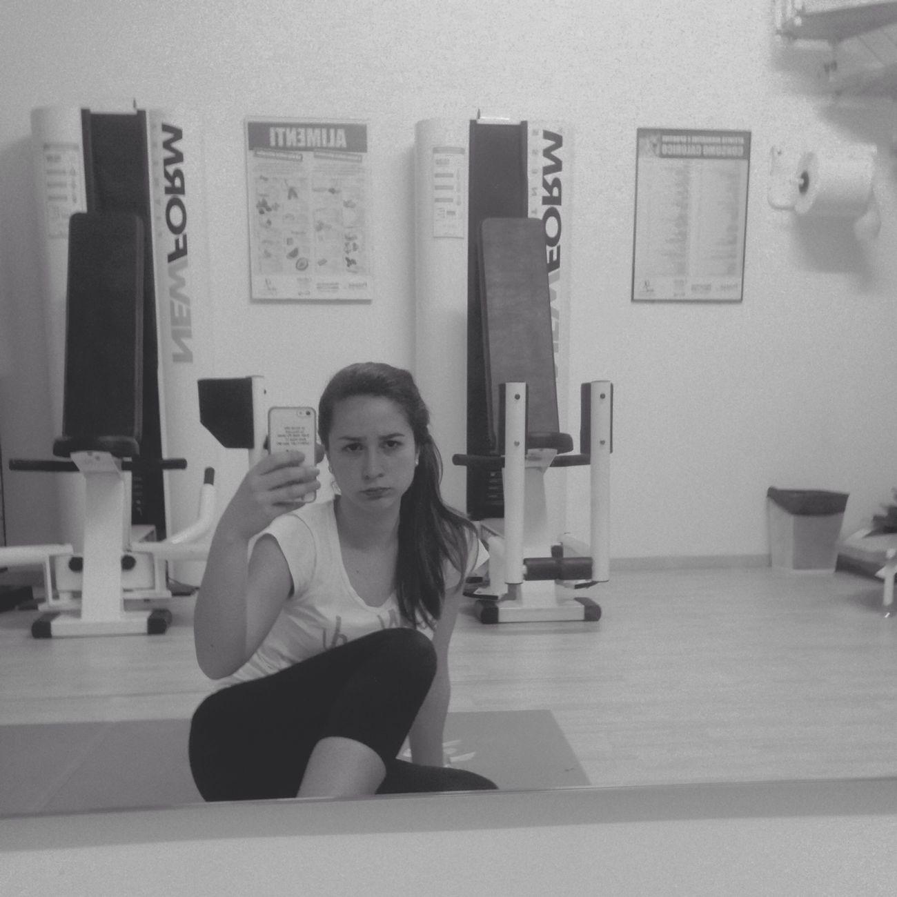 Gym Today Me ! Sadness