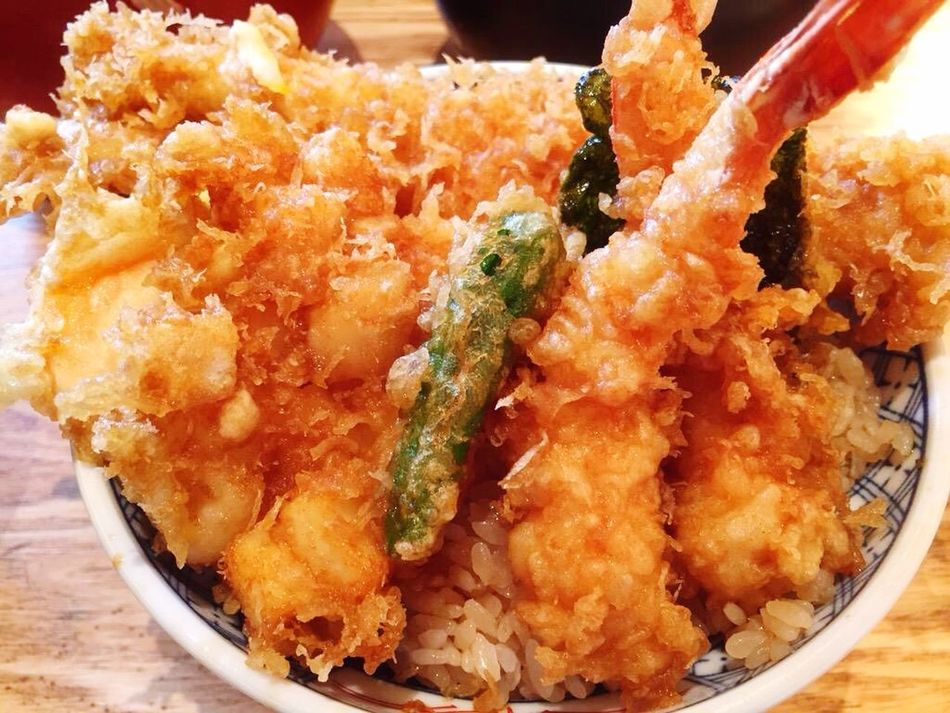 Yammy  Japanese Food Check This Out Seafood Rice Traditionalfood Shrimp Eggs Conger