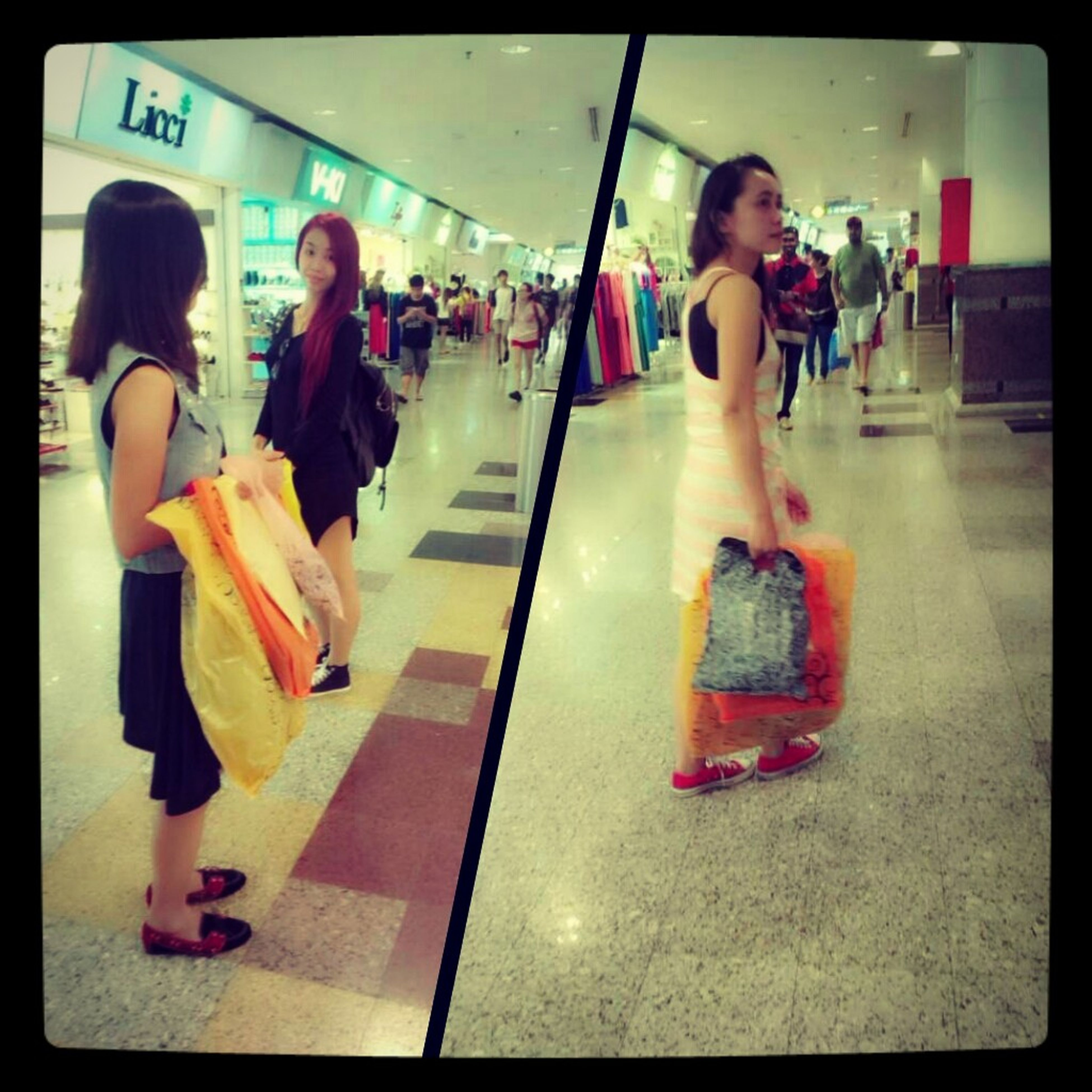 shopping time started... Shopping Quality Time Berjaya Times Square In Heaven