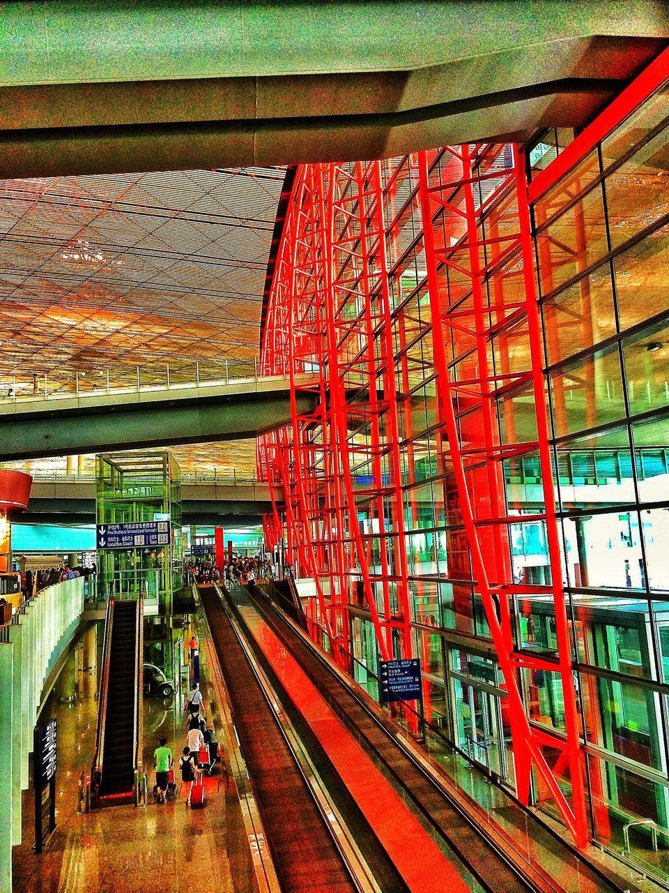 transportation, built structure, architecture, indoors, day, real people