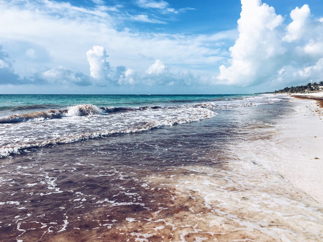 Beach Landscape Sea Sea And Sky Traveling