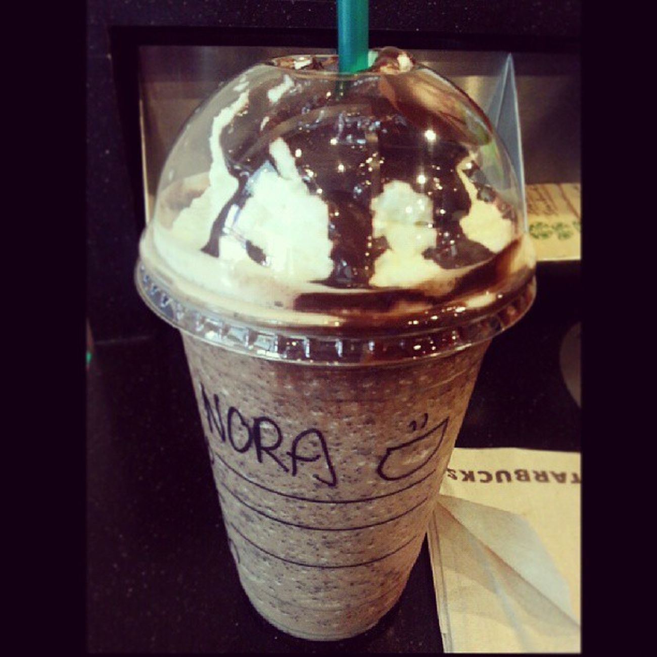 Starbucks is always my best meds evva! Choccreamchip Frappucino Solariamontkiara