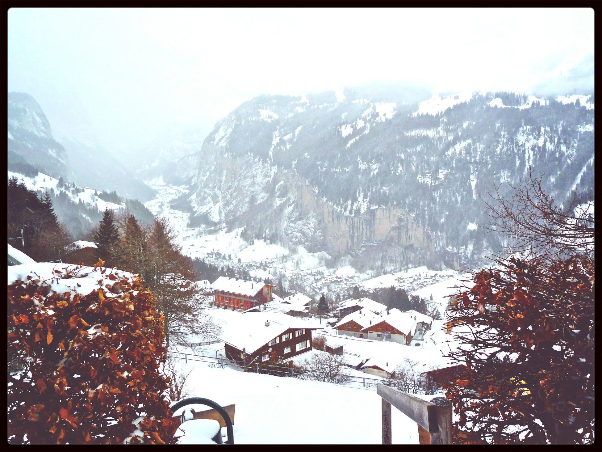 Winter Wonderland Hello World Switzerland Adventure Explore