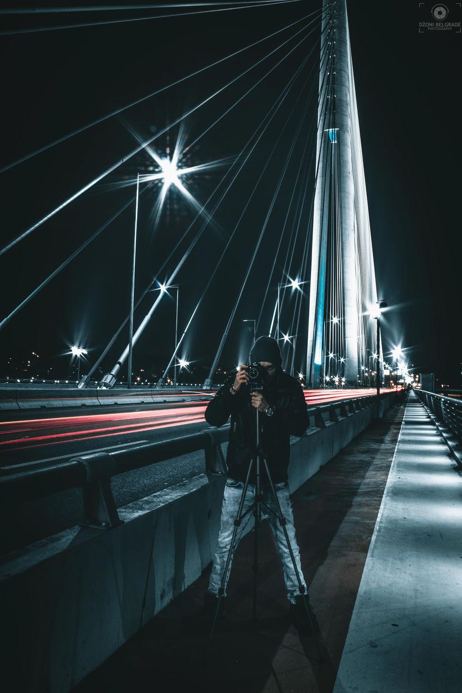 Architecture Longexposure Nikonphotography Don't Jump View Hello World EyeEm Best Shots Man People Shoot It Challenge Belgrade Mirrorselfie Love Moody Photooftheday Nightphotography Night Night Lights Serbia