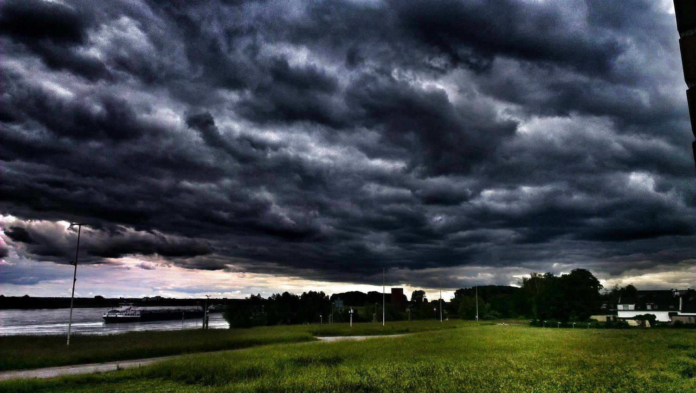 Dunklewolken Wolken