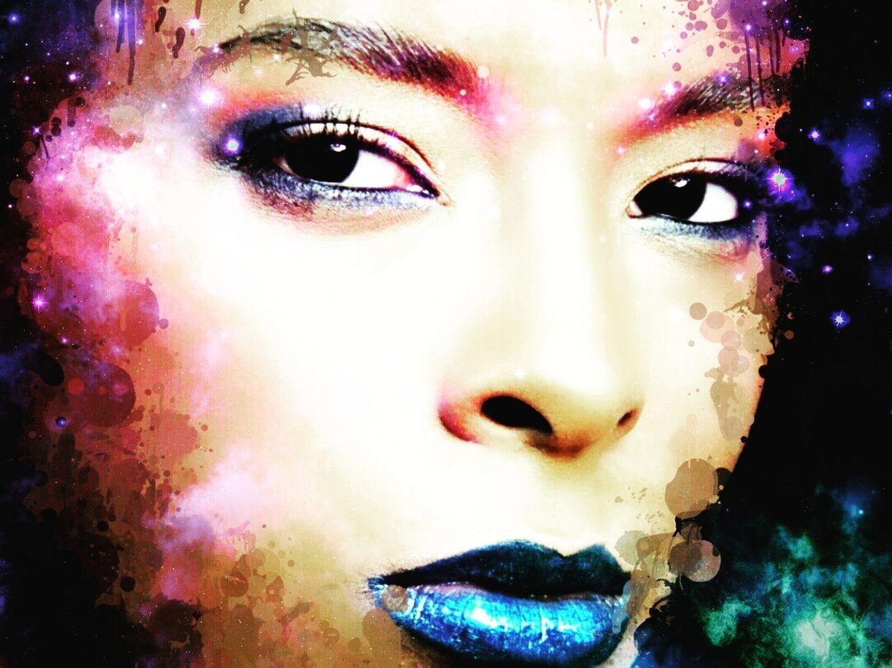 Beleza da mulher negra em cores l