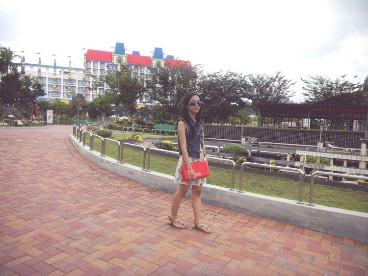 Throwback 2014 Johorbahru Malaysia Legoland EyeEmMalaysia Asian Girl Indonesian PhonePhotography Me