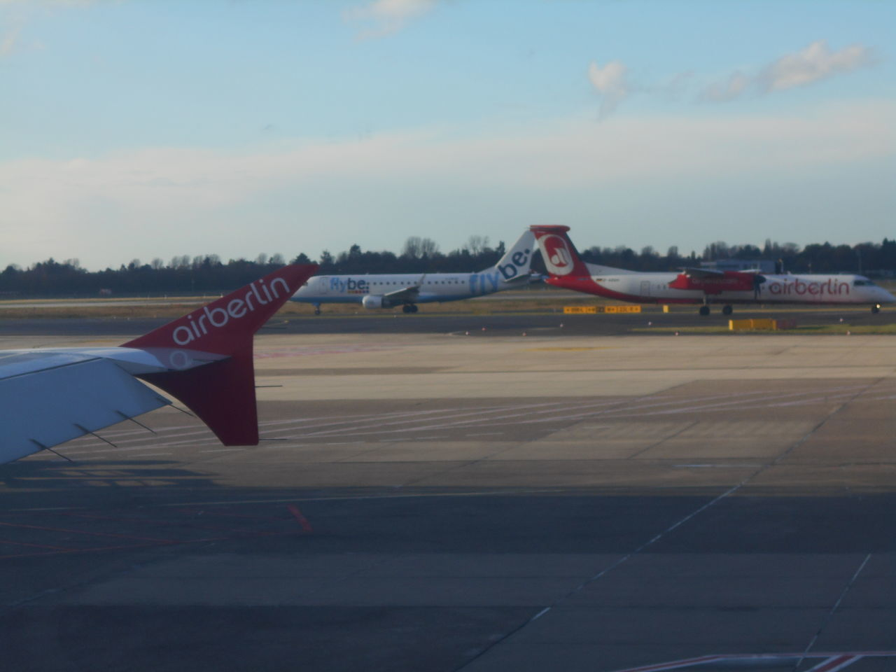 airplane, air vehicle, transportation, sky, airport runway, no people, cloud - sky, day, runway, outdoors