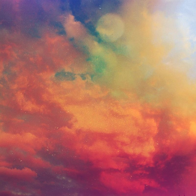 Clouds And Sky Space Rainbow Colors April 2014