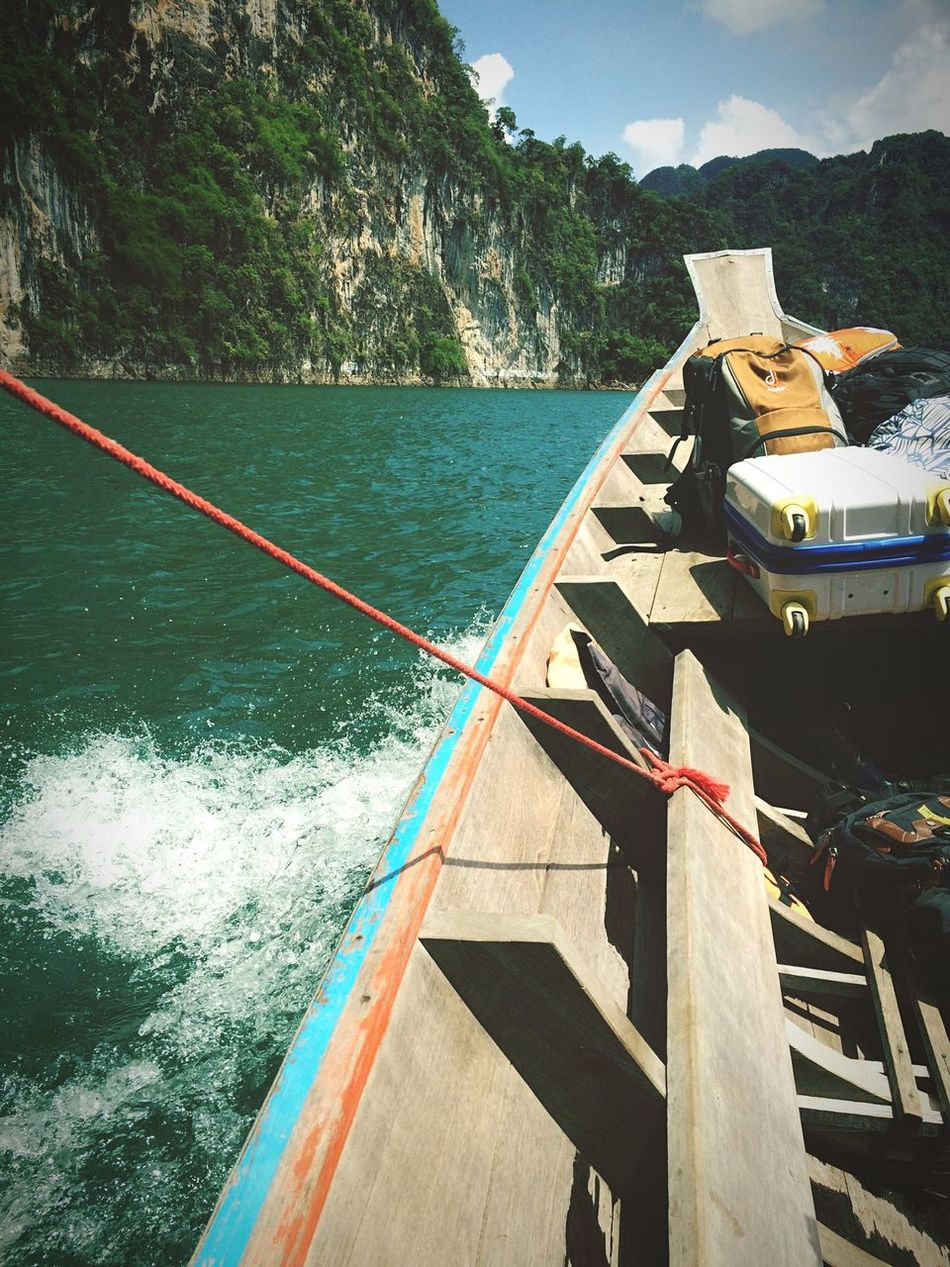 Beautiful stock photos of thailand, Ban Takhun, Boat, Cloud, Day