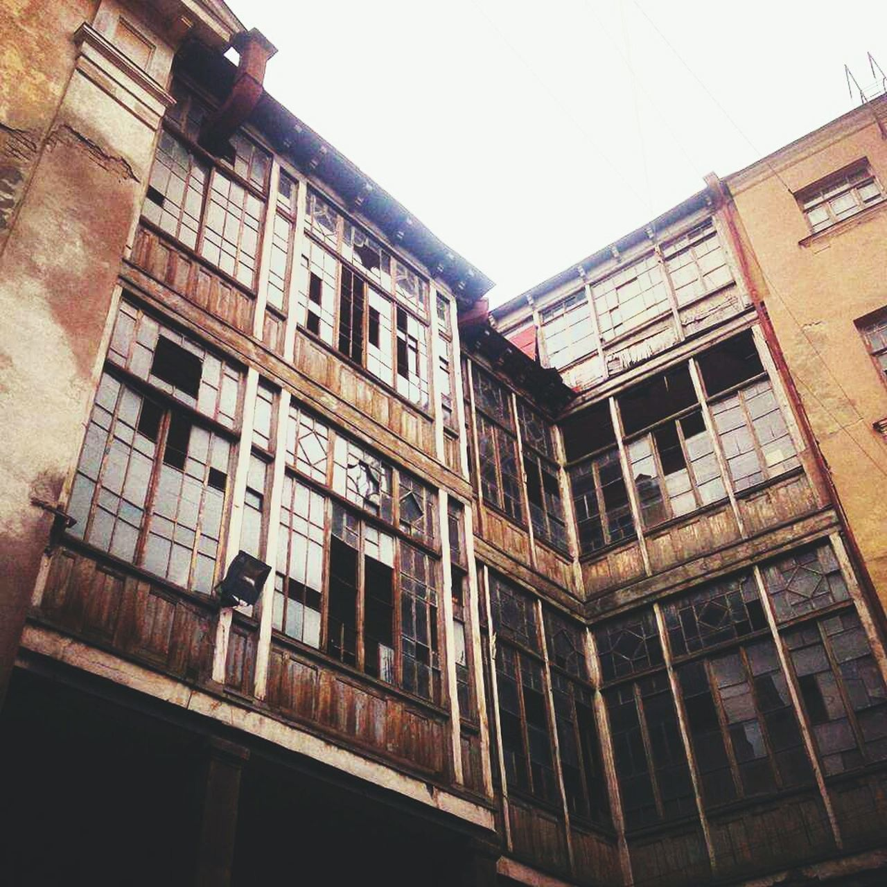 Low Angle View Building Exterior Architecture Facade Building Old Buildings No People Outdoors
