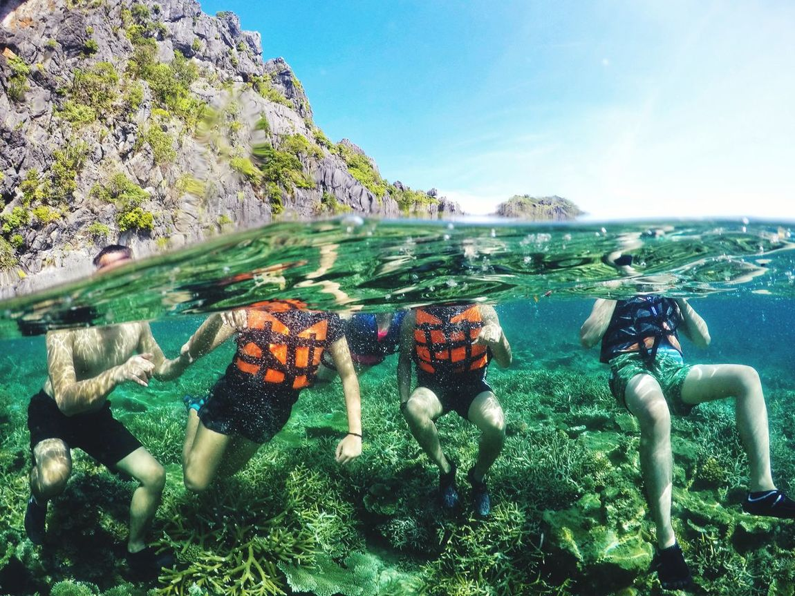 Done That. Water Sea Vacations Nature Summer Beauty In Nature Adventure UnderSea Philippines ❤️ ElnidoPalawan2017 The Week On EyeEm Eyeem Philippines Perspectives On Nature
