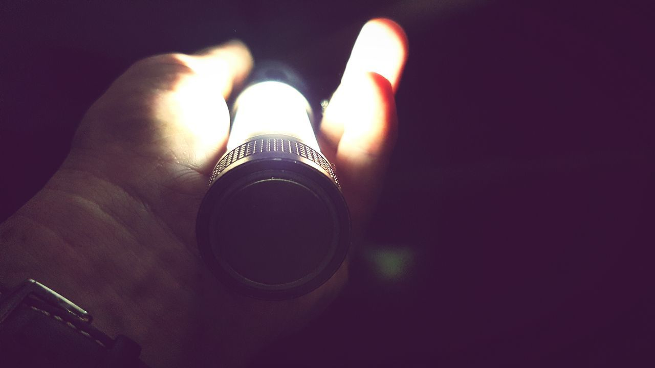 Human Hand Human Body Part Close-up Night People My Hand  Torchlight Torch Holding Light Light And Shadow