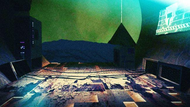 Sahara sci-fi 2093 Science Fiction pyramide Sahara futur art illuminate First Eyeem Photo