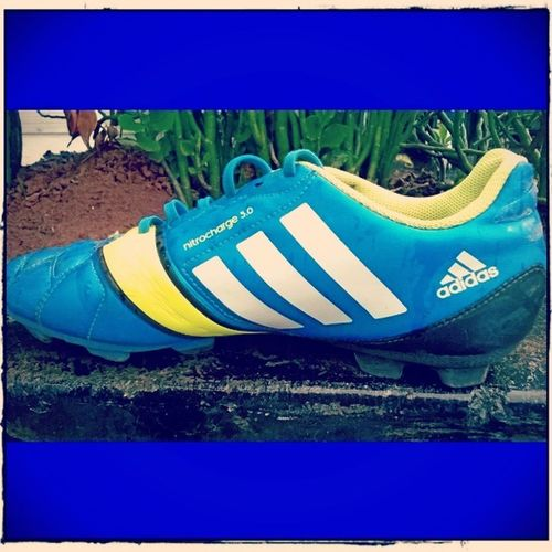 Adidas Nitrocharge 3 .0 Sneakers football lovers soccer in my blood photographylovers photography instaclick instapic instalike instadoubbletapp followmefollowyoualways