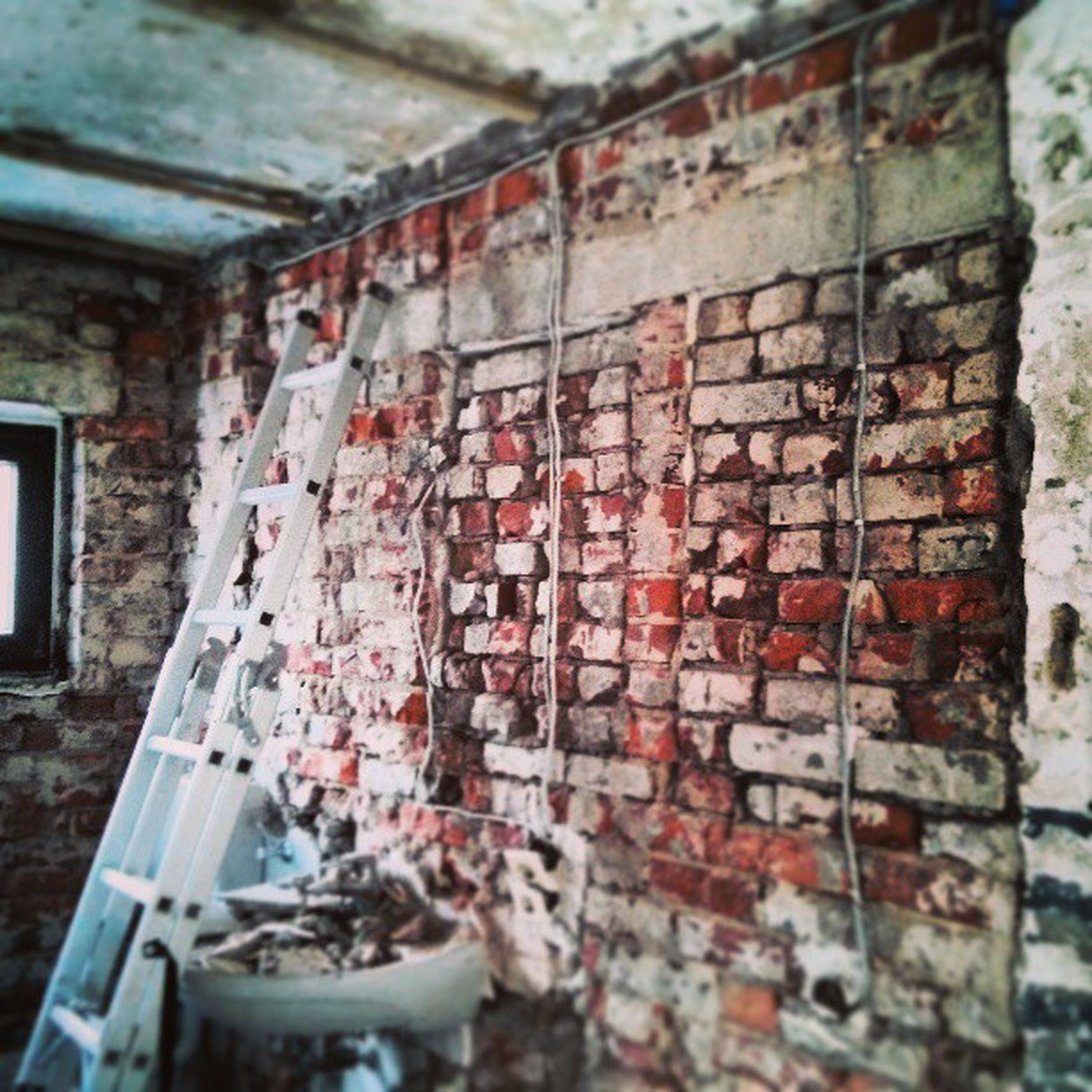architecture, built structure, abandoned, damaged, deterioration, obsolete, old, weathered, run-down, building exterior, window, wall - building feature, brick wall, indoors, bad condition, house, messy, destruction, no people, day