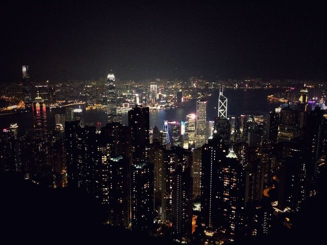 From the peak Urban Landscape HongKong Pennyforyourthoughts