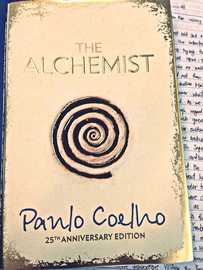 When you're torn apart inside, I find solace and guidance right in here. Books The Alchemist Taking Photos Hello World