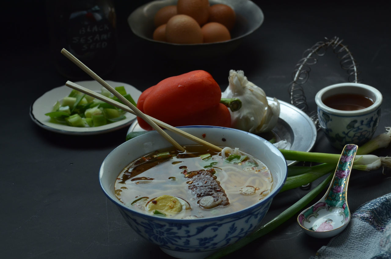 bowl, food and drink, freshness, food, no people, healthy eating, table, vegetable, indoors, close-up, dip, ready-to-eat, day