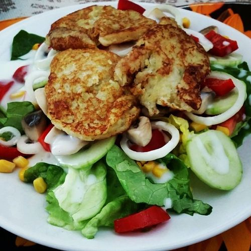 Cook4lumia eines meiner Lieblingsessen Röstisalat :) /cc @pina_me @zorrakochtopf @herr_lampe
