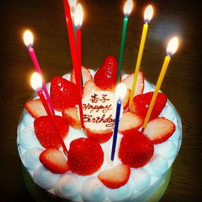 Happy 18th BD,Kyoko?? Birthday 18th Littlesis BDcake strawberry♡goodday