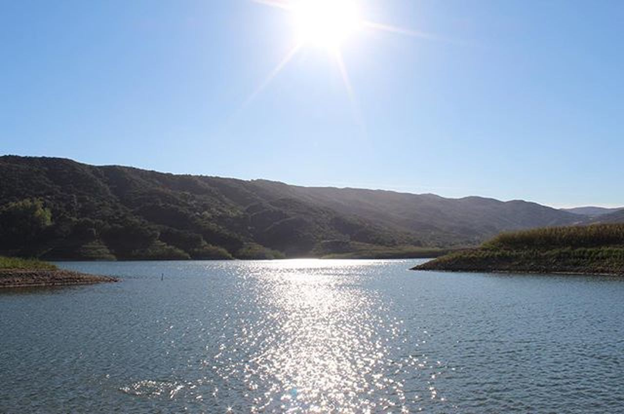 LakeCasitas Sun Photography Californiadrought Lake trill sun dude
