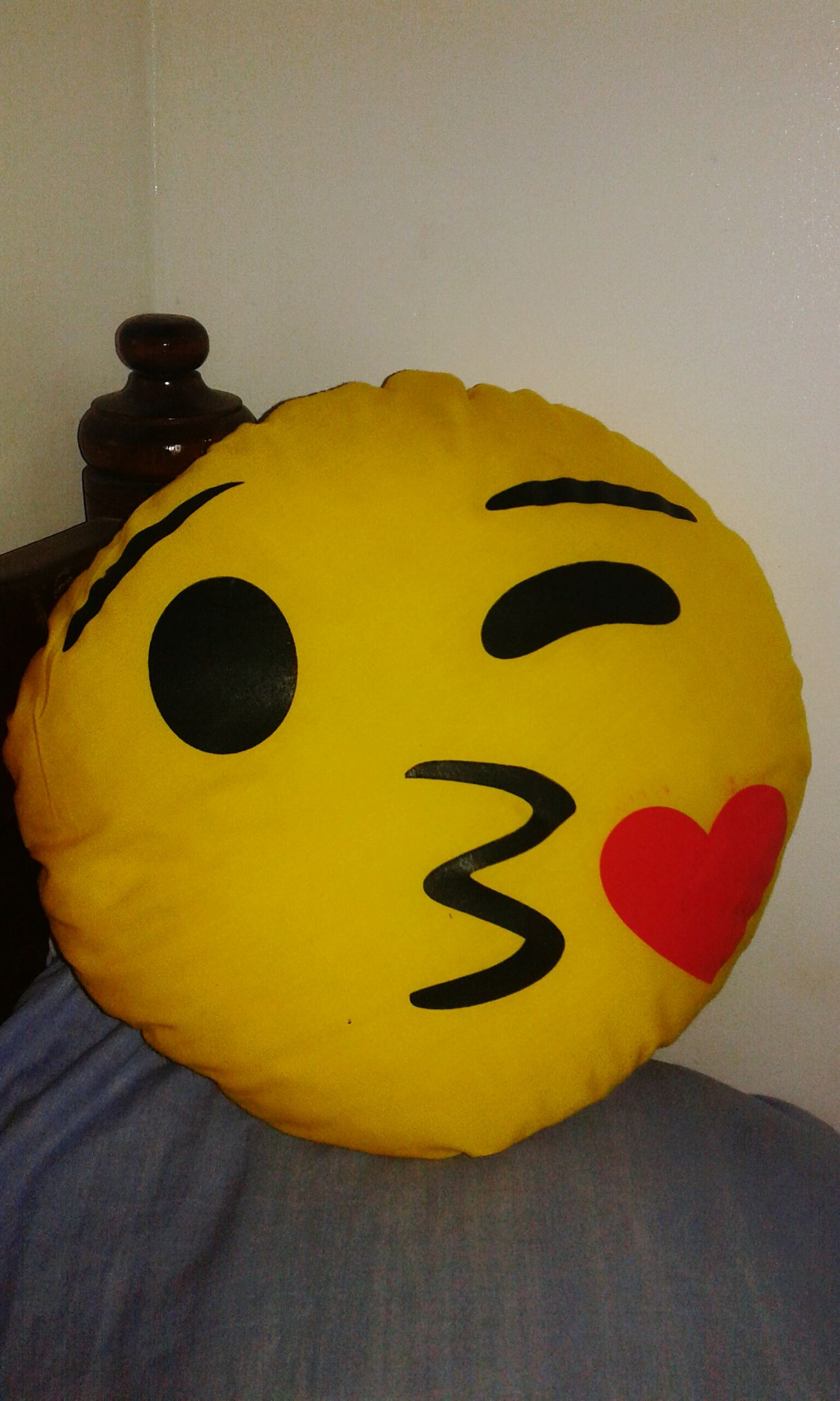 Emoji 🙈🙉🙊 Emoji Face Emoji Pillows Eyem Gallery Yellow Creativity Circle Yellow Home Decor Timetosleep Good Night ♡♡ Nightphotography Art Art And Craft