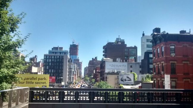 Architecture Building Exterior Building Story City Life Cityscape High Line Park New York Urban Skyline