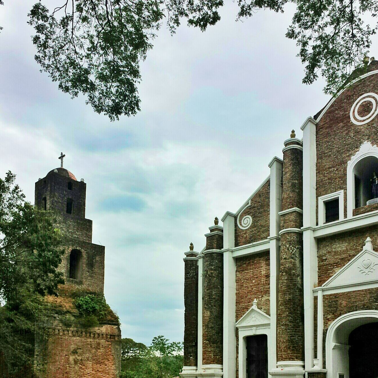 church and belfry || Travels Pilipinas History Heritage