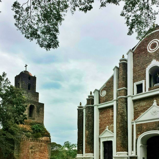 church and belfry    Travels Pilipinas History Heritage