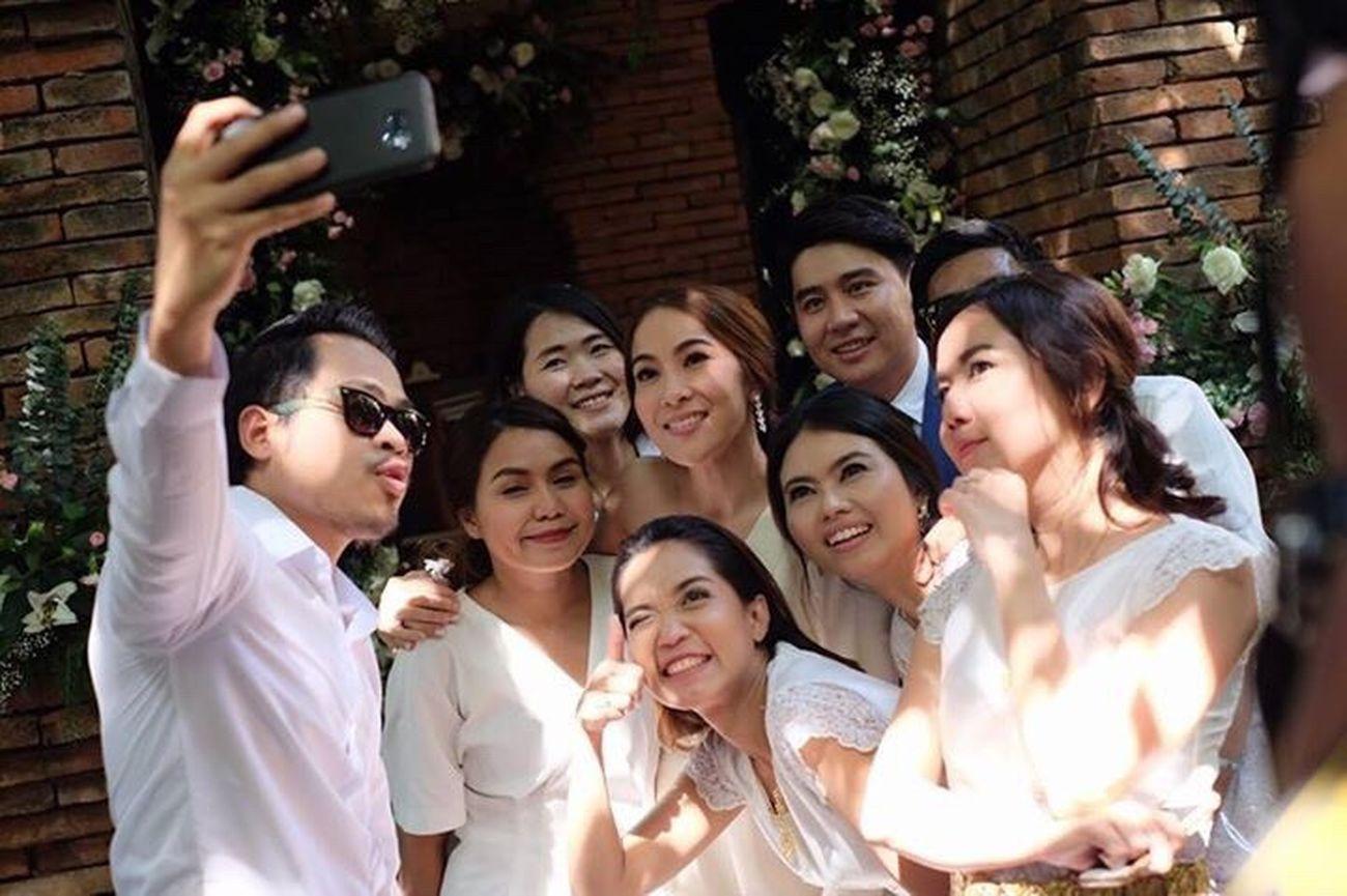 Yuii&toon weddingday!! Wedding Wedding Photography Wedding Day Smiling Happiness Group Photo Group Shot
