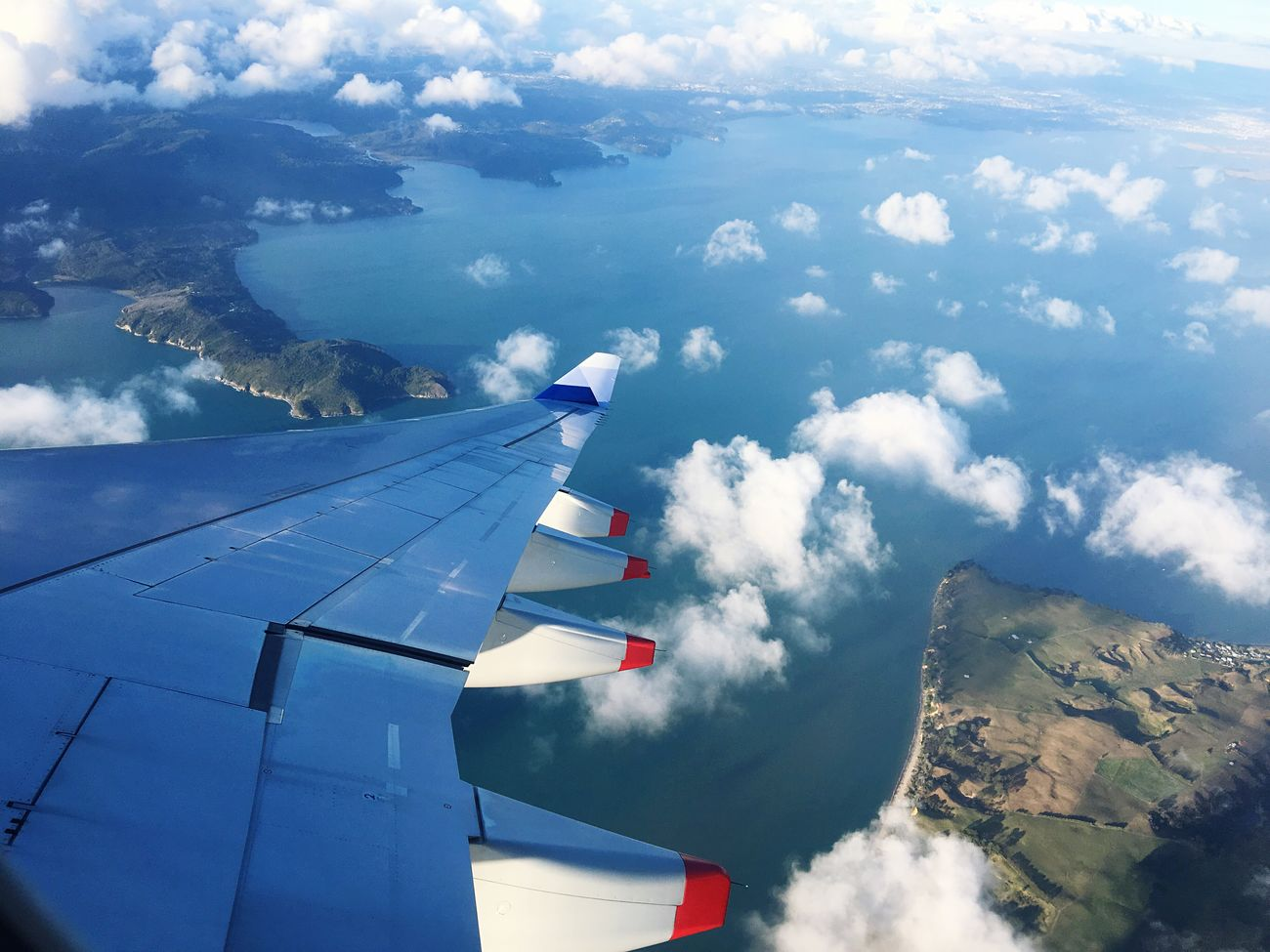 Sky Cloud - Sky Transportation Flying Airplane Nature No People Day Beauty In Nature Outdoors Air Vehicle Mountain Airplane Wing
