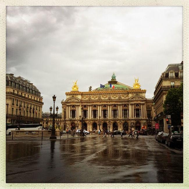 Architecture Rainy Days