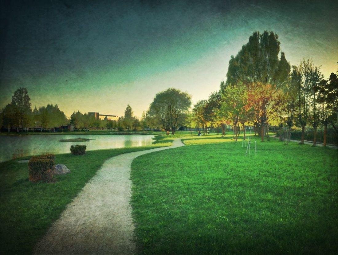 Lithuania Naujoji Akmene Pond