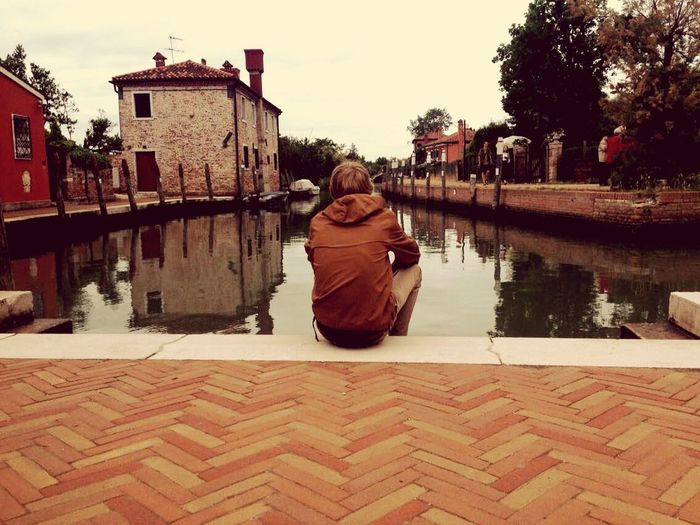 That's Me Enjoying Life Relaxing The Tourist Venice Taking Photos