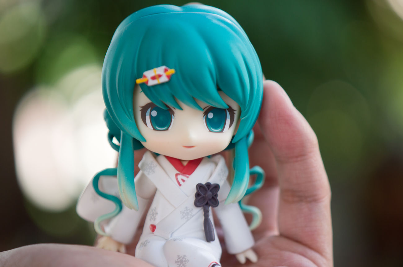 Cutest thing. Snowmiku Vocaloid Miku HATSUNEMIKU Figurephotography Toyphotography Goodsmilecompany Nendophotography Nendoroid Animefigure