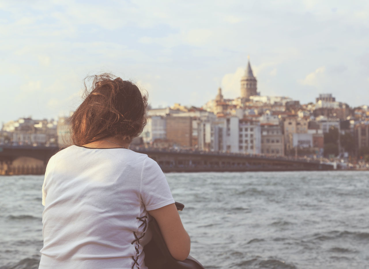 Beautiful stock photos of istanbul, Building Exterior, Built Structure, Day, One Person