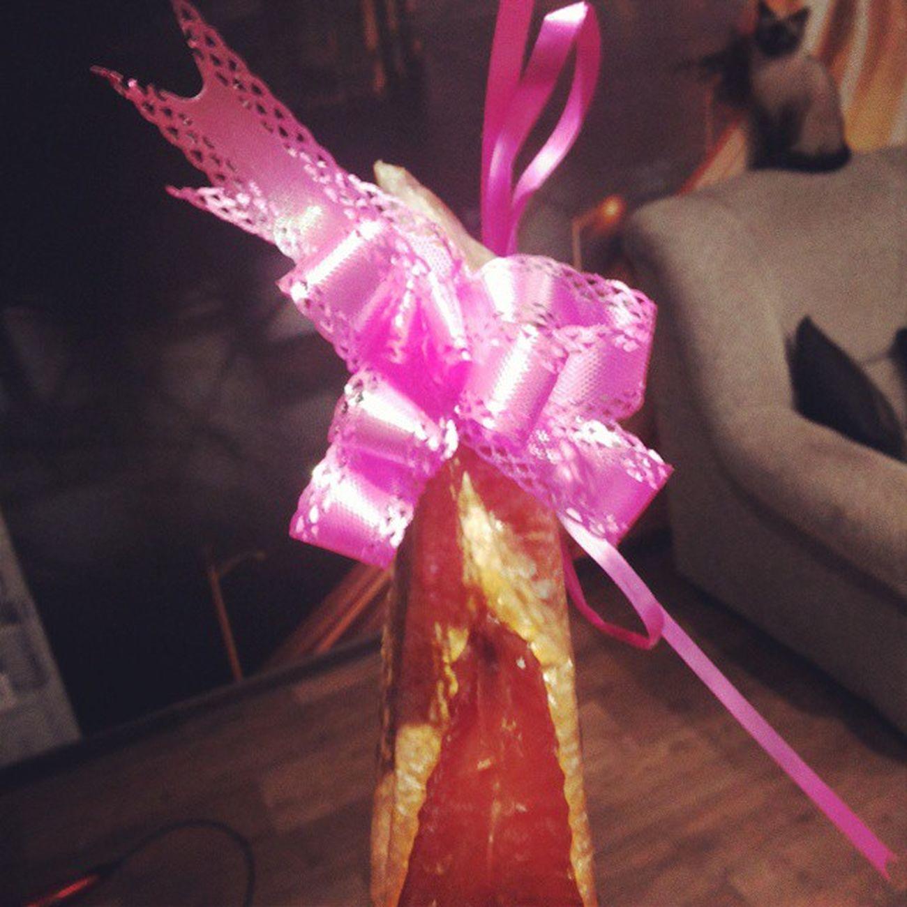 Замечательный подарок))) подарок рыба деньрождения продолжение весельевхламину