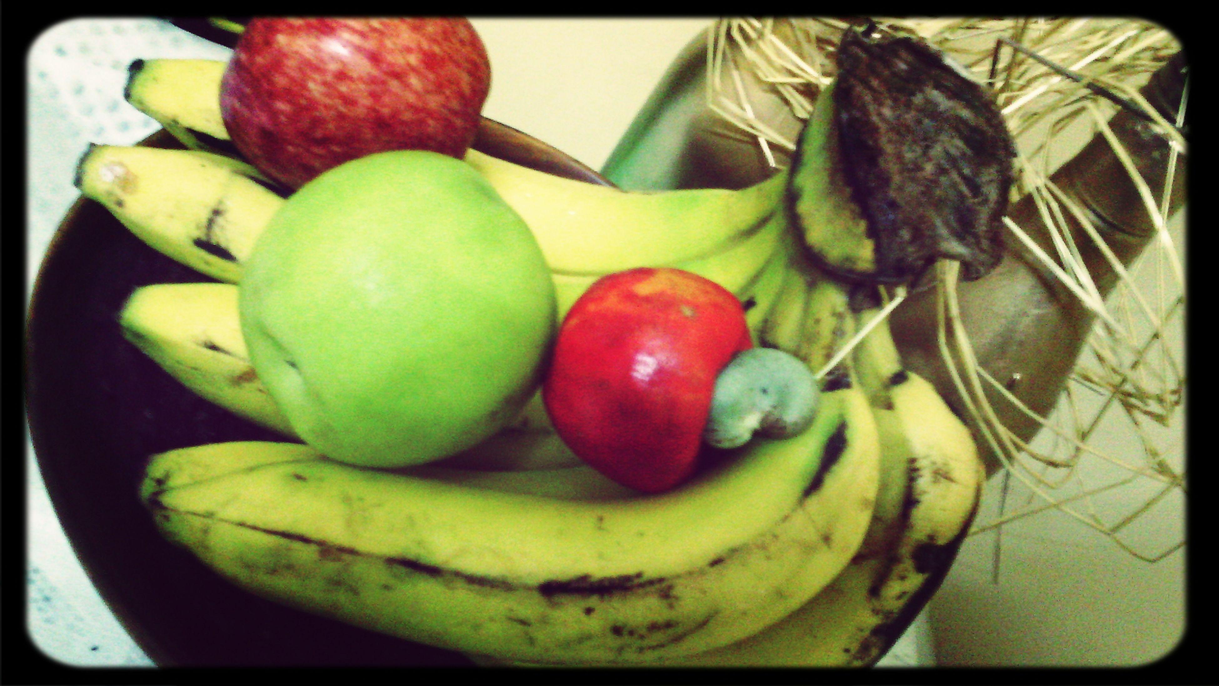 Eat More Fruit Apples Bananas Cayú