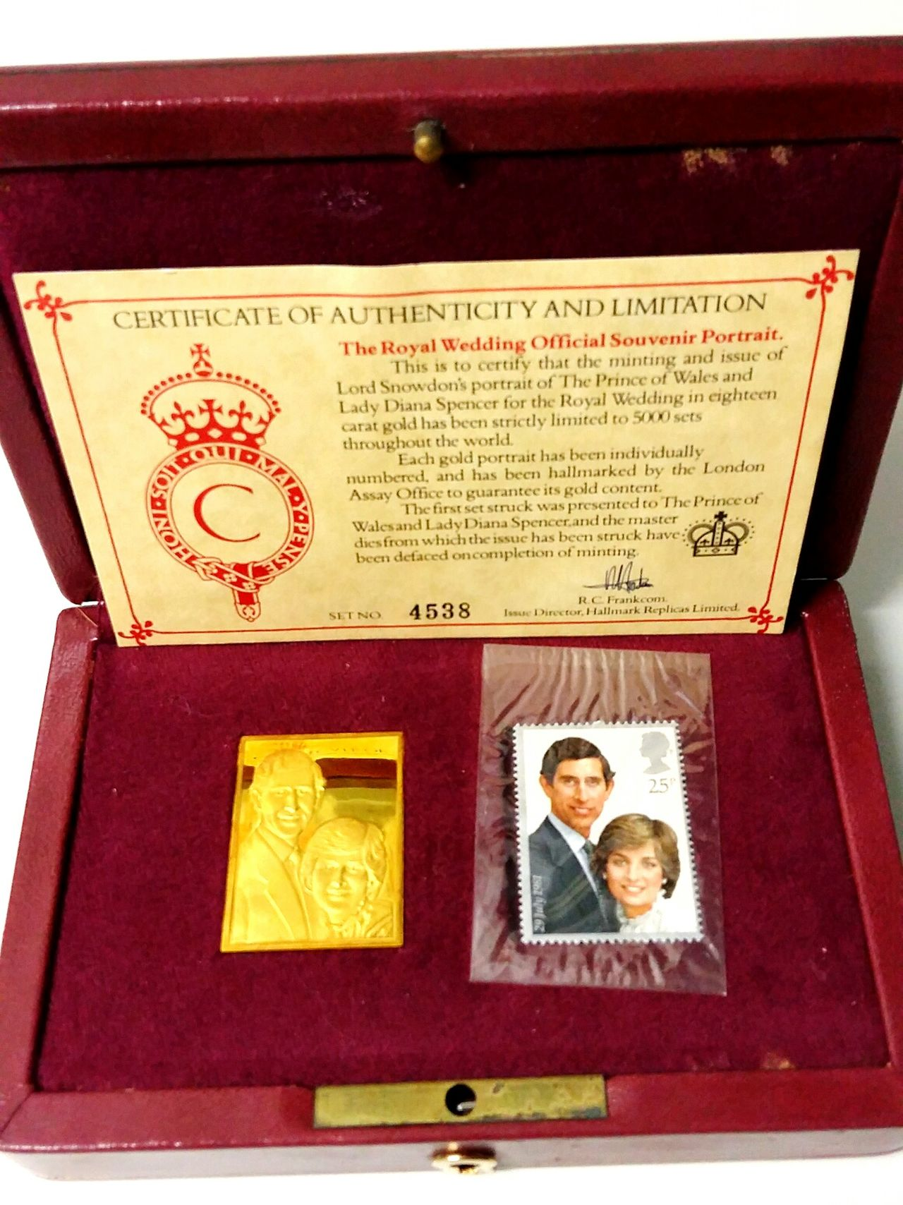 Royal History Princess Diana Royalty Royal Wedding Stamp Set Authentic Artefact 43 Golden Moments