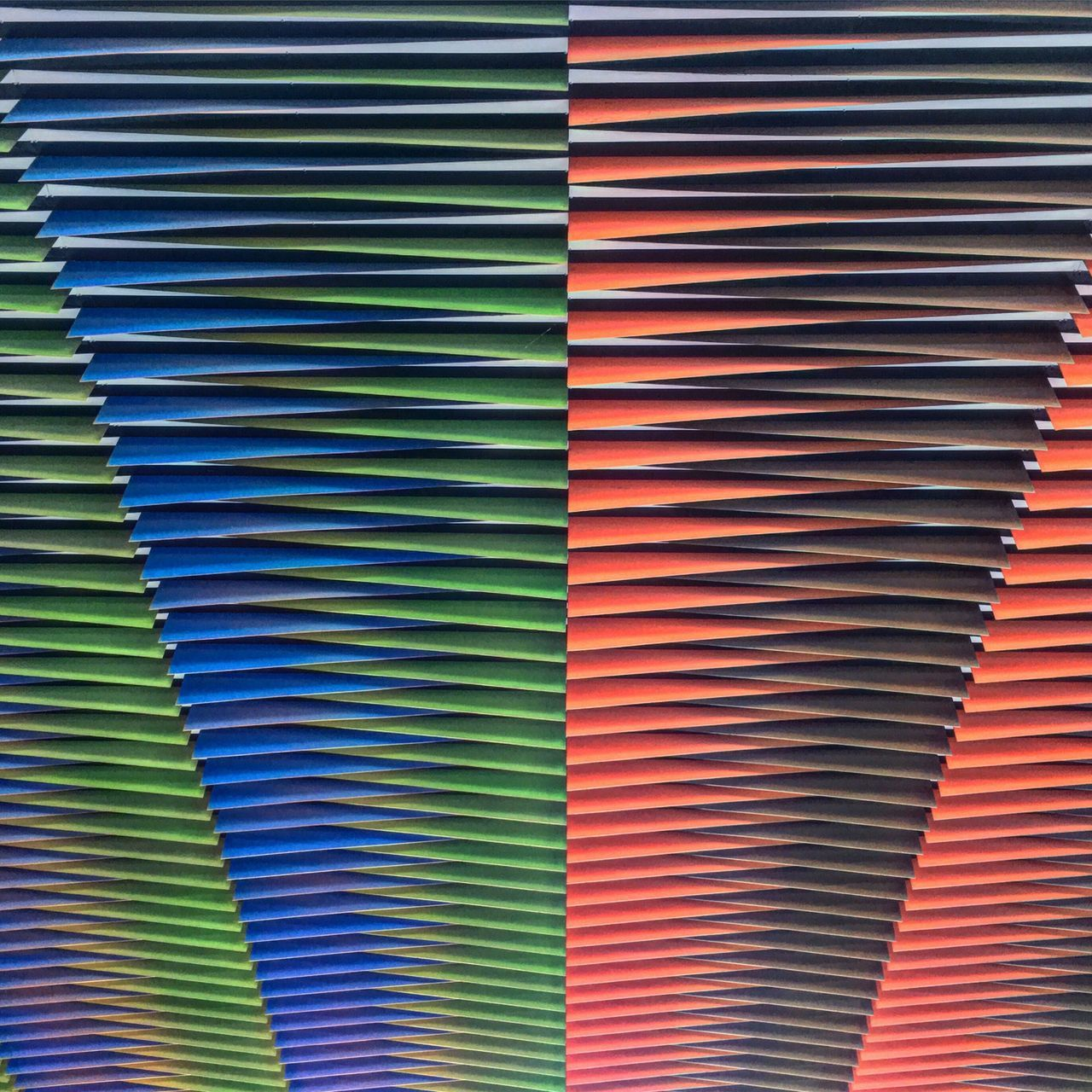 Sweet Roof! Multi Colored Blue Abstract In A Row No People Textured  Indoors  Art Arquitecture Roof Full Frame City Venezuela City Life Places Photo Art