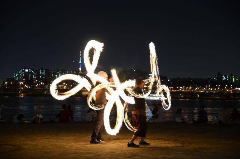 Han River Dance Fire