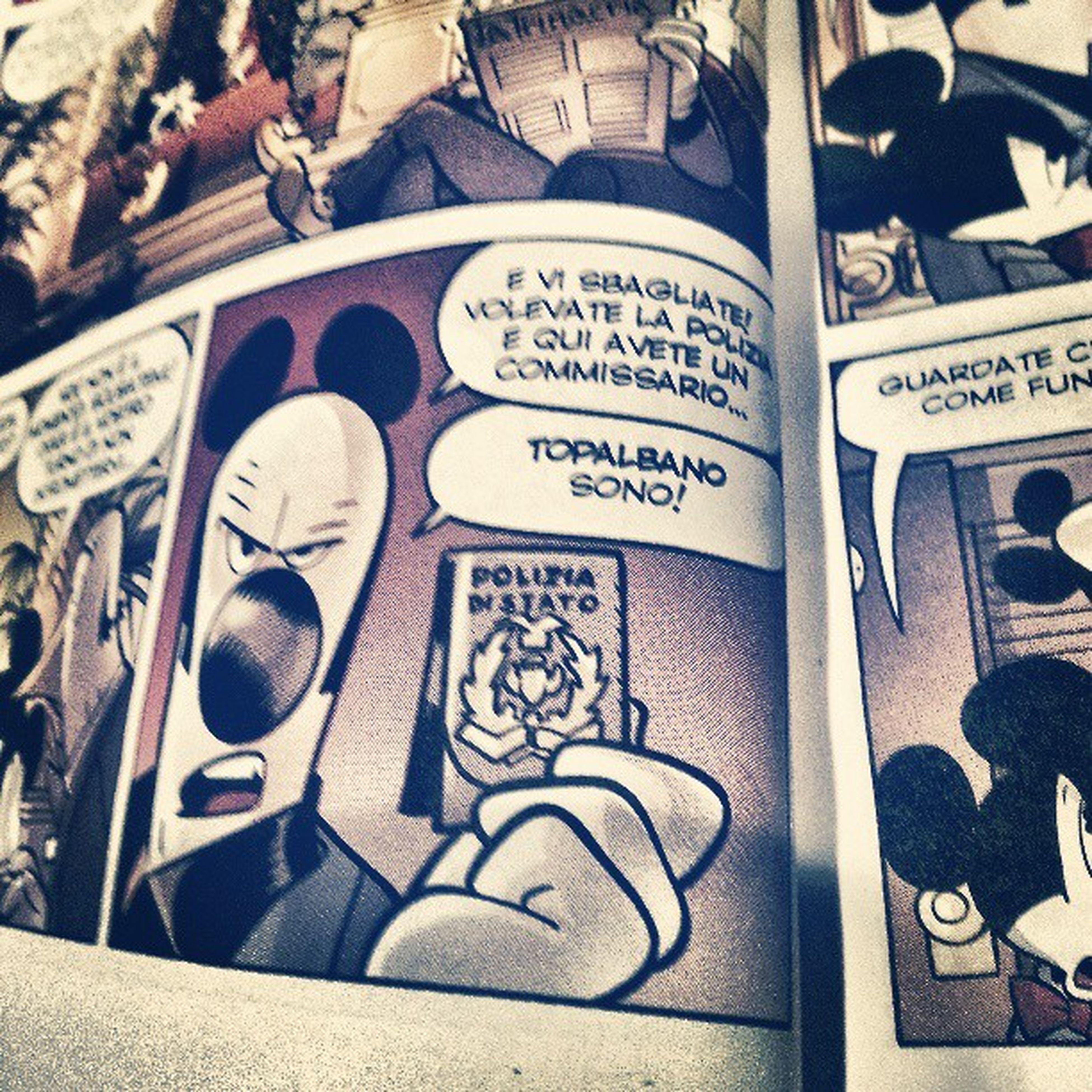 Di pissona pissonalmente. .. Fumetti Comics Camilleri Sicilia montalbanosono camurria topolino mickymouse