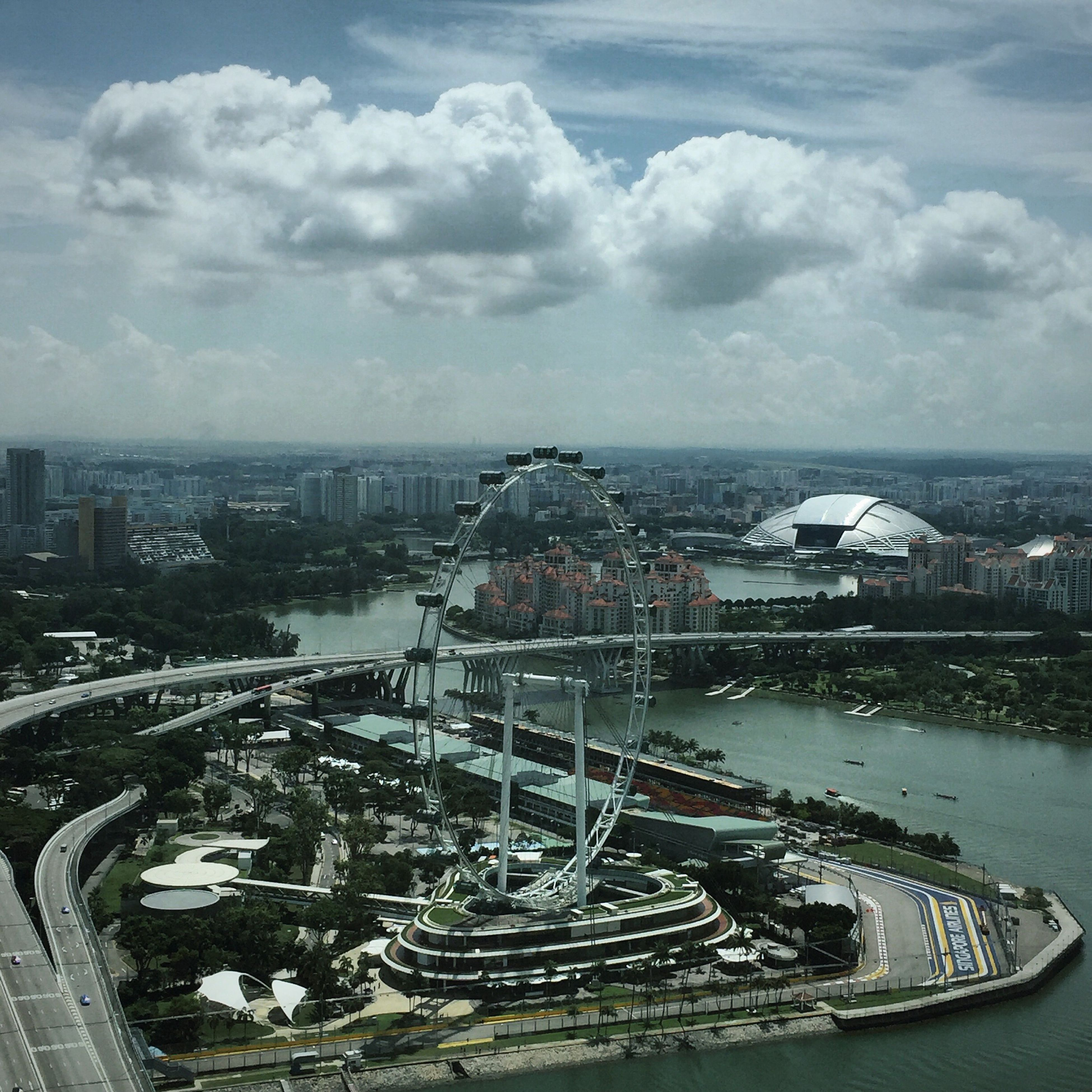 S'pore Clouds And Sky Scenery Cityscape Sky IPhoneography Cloudlover Sky_collection Clouds Marina Bay Sands