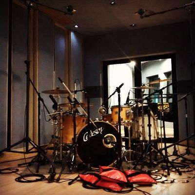 WeepingPillow drum recording. Thank you P'Knot and @bankyjazz for your sponsorship krub