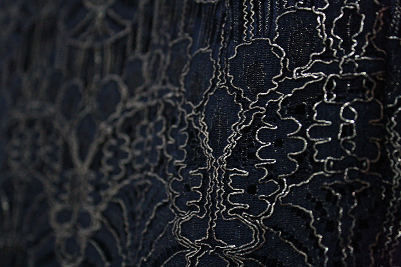 Fabric Texture Lace Brocade Fashion Photography Black Gold