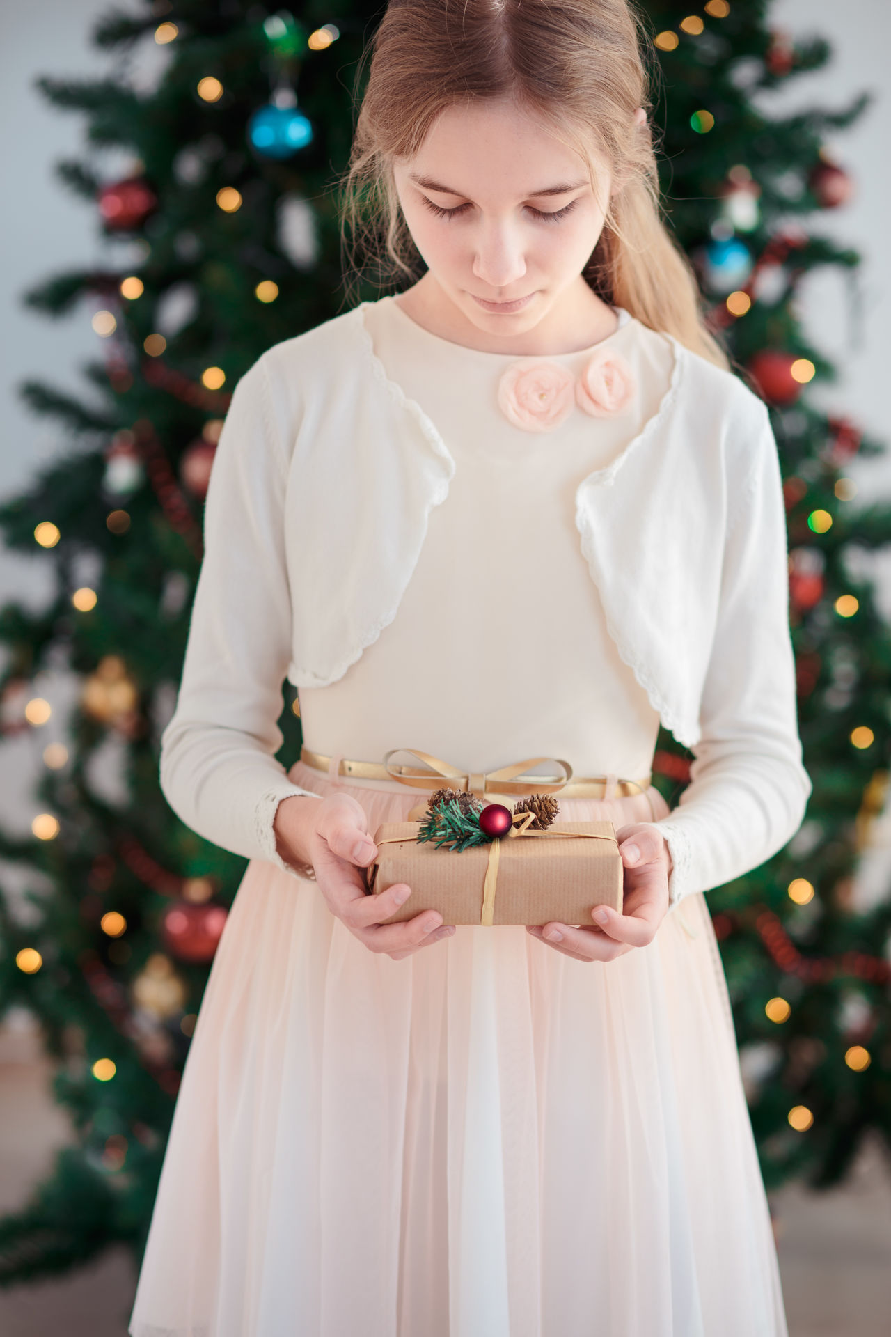 Beautiful stock photos of weihnachten,  12-13 Years,  Advent,  Beauty,  Blond Hair
