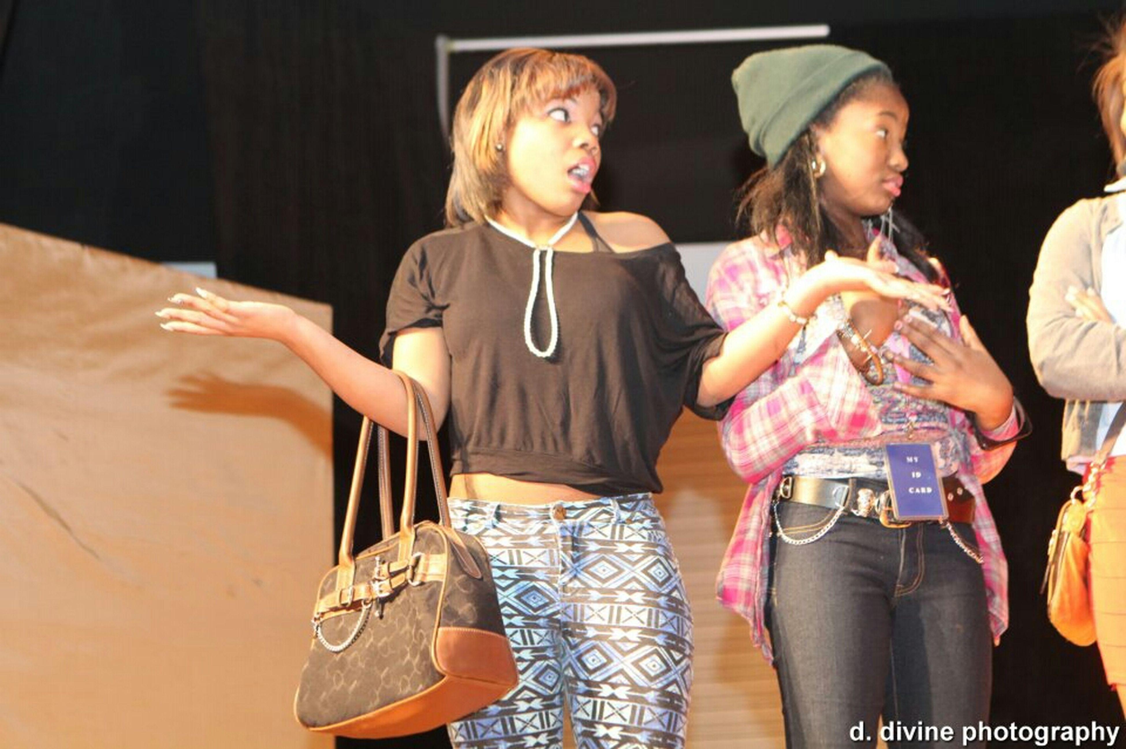 On Stage Like Whaaaat! Lol