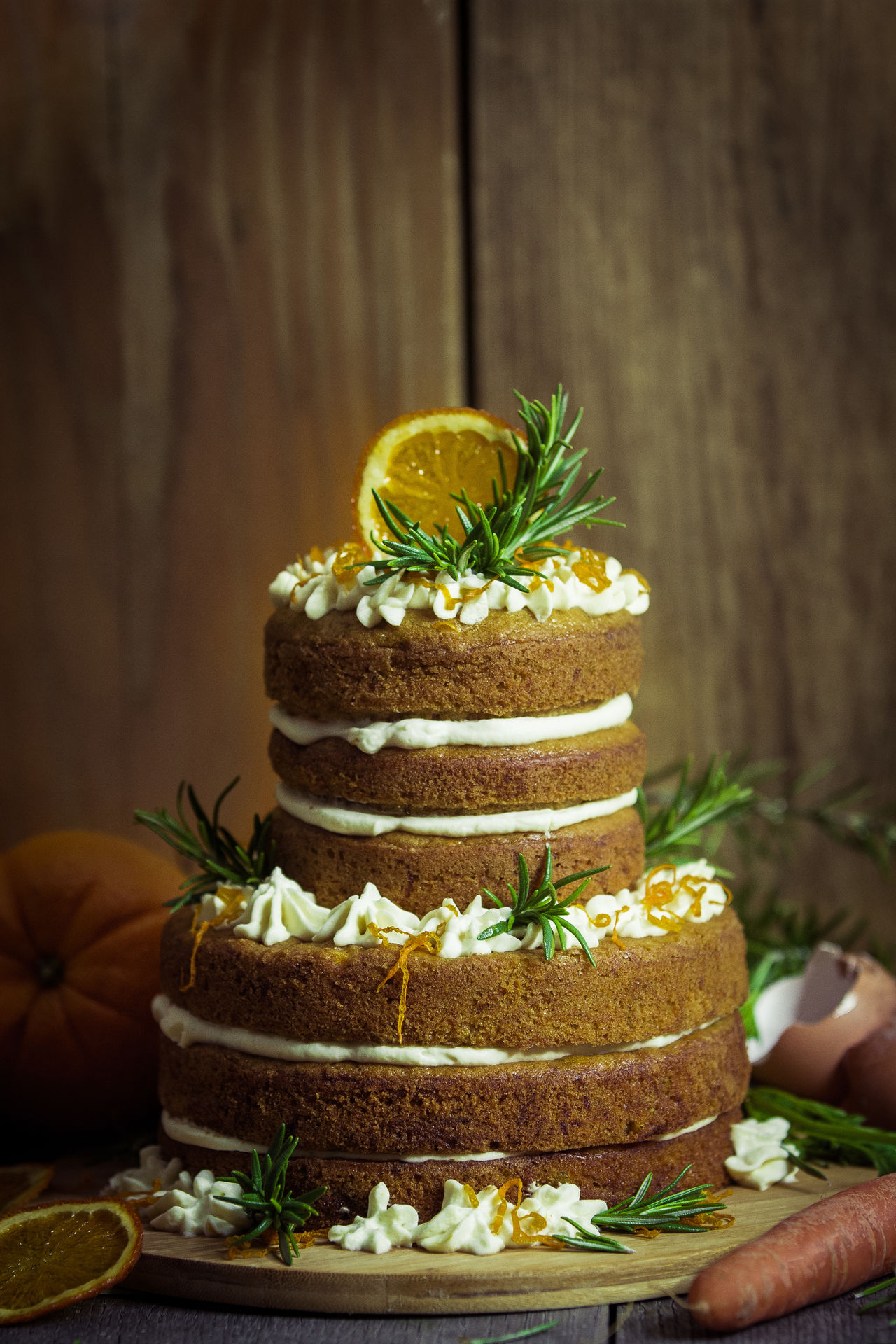 www.naked-cakes.de Baking Cake Carrots Carrots.  Close-up Courgette Courgettecake Delicious Dessert Food Food And Drink Food Porn Foodlove Foodphoto Foodphotography Foodporn Naked C Naked Cake Nakedcakes Nature Nature_collection Rosemary Sky Still Life Still Life Photography